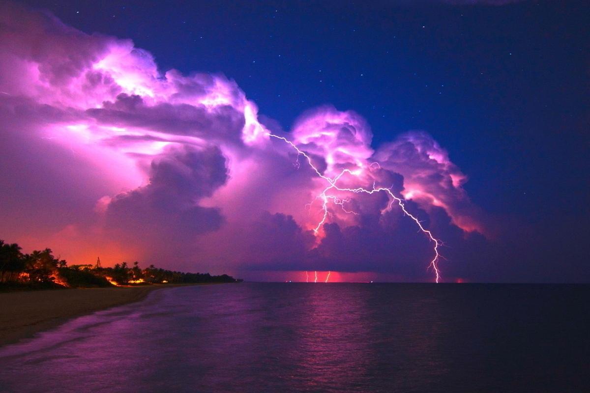 الرعد في المنام