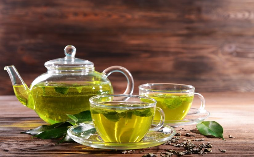 ما هي فوائد الشاي الاخضر بعد الاكل