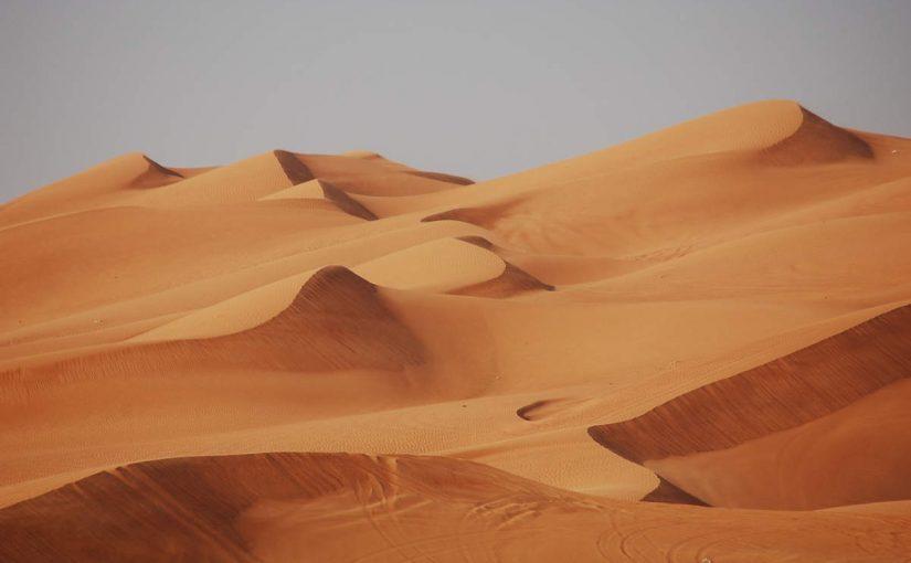 صور صحراء الإمارات