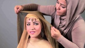 طرق لف الحجاب