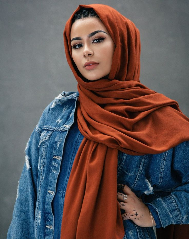 طريقة لف الحجاب العادي
