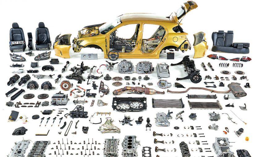 اجزاء السيارة