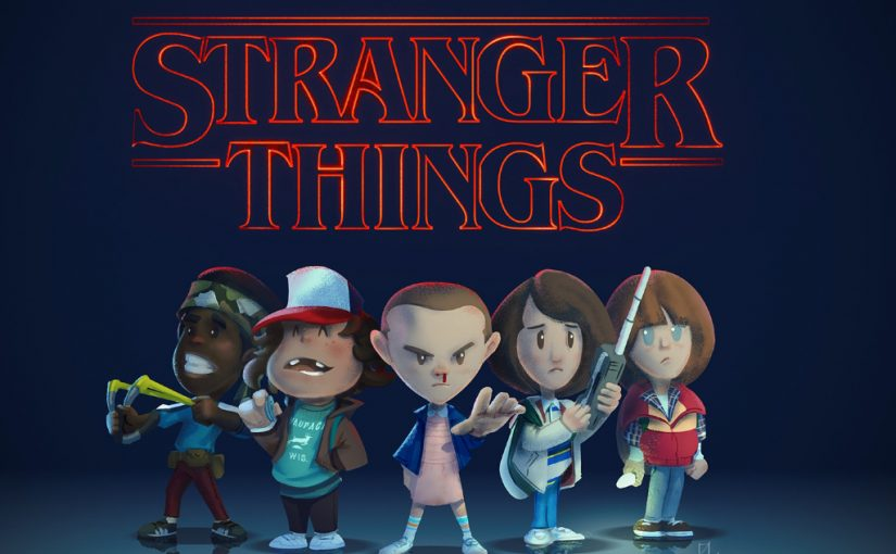 stranger things قصة