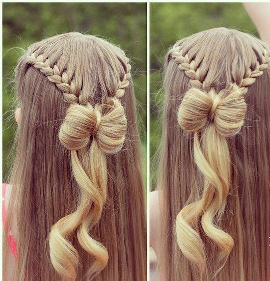 تسريحات شعر بنات