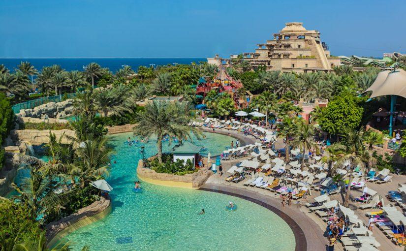 كم مدينة مائية في دولة الإمارات؟