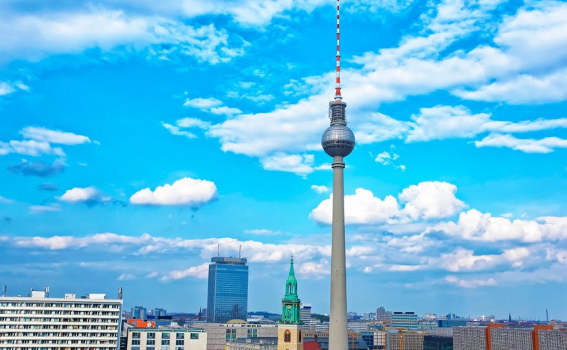 برج برلين اين يقع