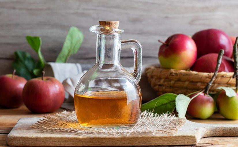 شرب خل التفاح