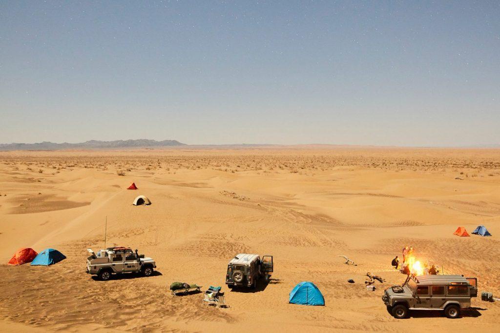 اهم مناطق التخييم في دبي