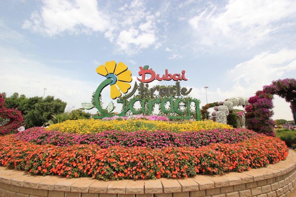 حديقة المعجزات في دبي بالصور