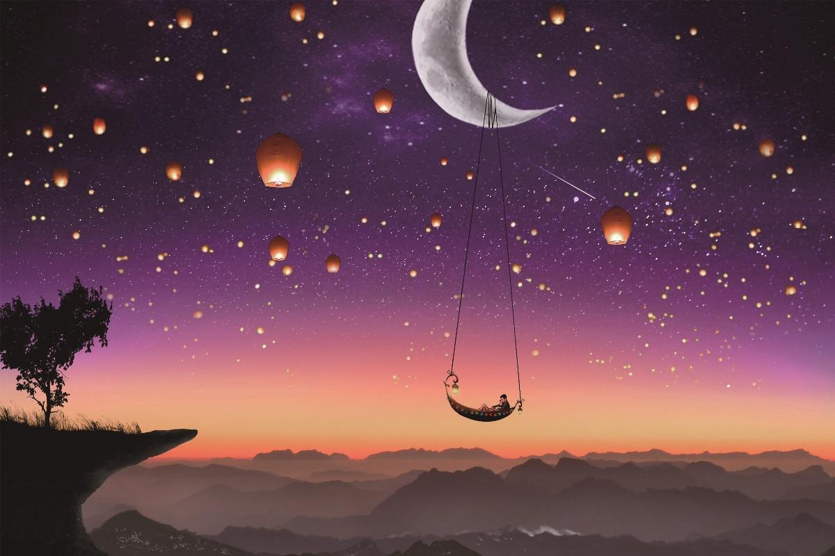 قصة خيالية القمر الحزين موسوعة