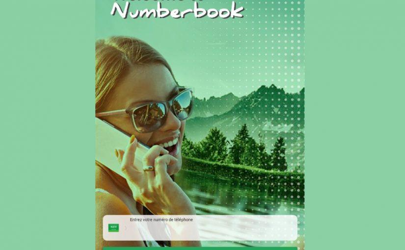 نمبر بوك للكمبيوتر ويندوز 7