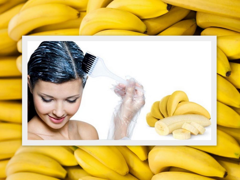 وصفة الموز لتنعيم الشعر كالحرير