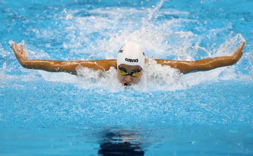 تعلم السباحة