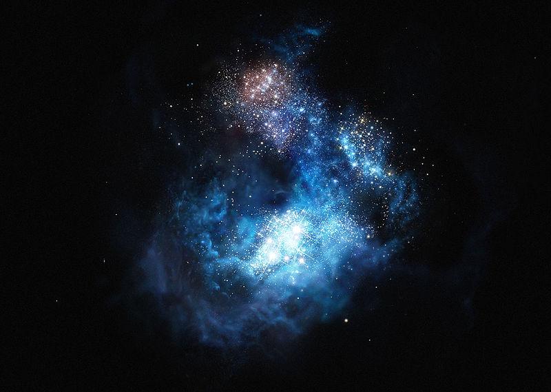 مجرة الانزياح الأحمر 7