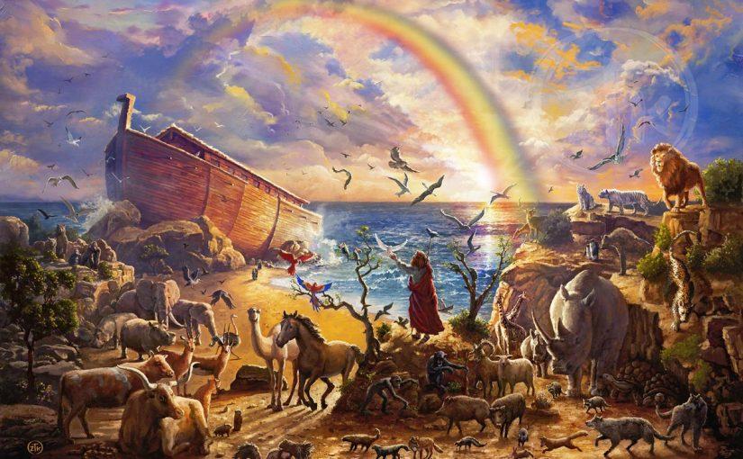 أبناء سيدنا نوح عليه السلام
