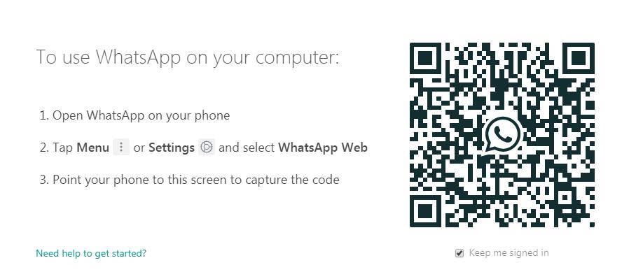 web.whatsapp تجسس