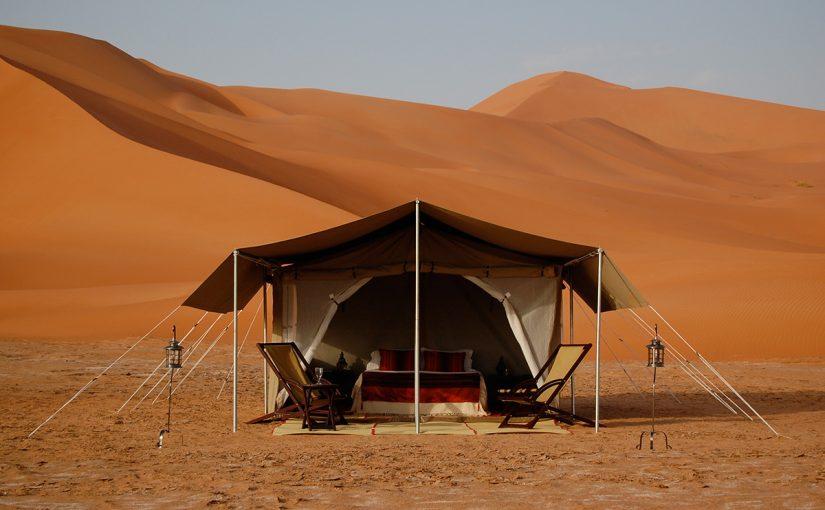 افضل اماكن التخييم في الامارات