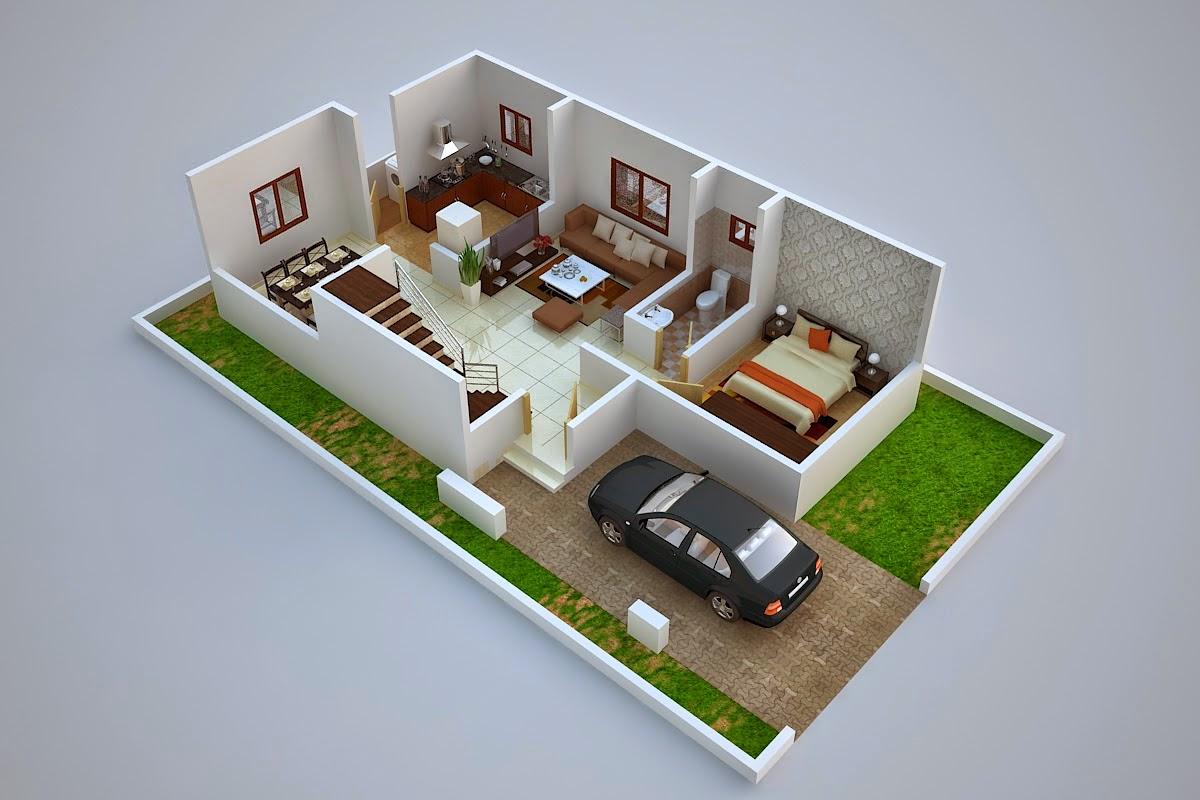 واجهات منازل صغيرة
