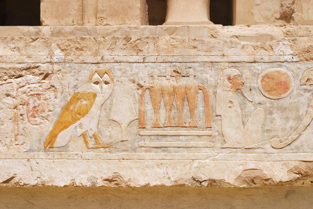 معلومات جديدة عن معبد حتشبسوت