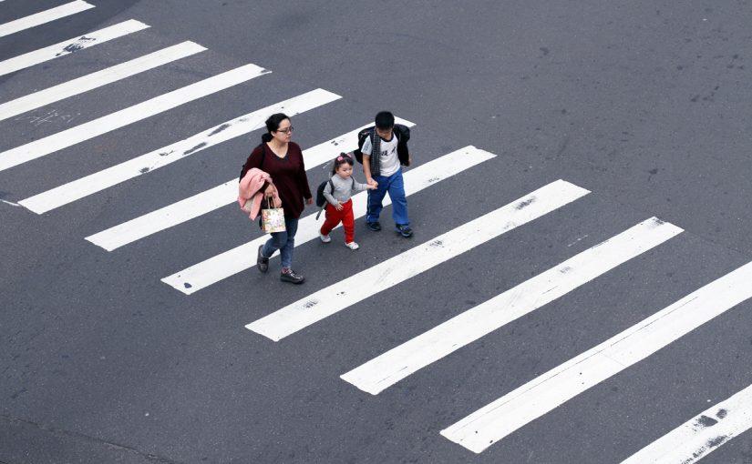 قواعد ممرات عبور المشاة في الإمارات