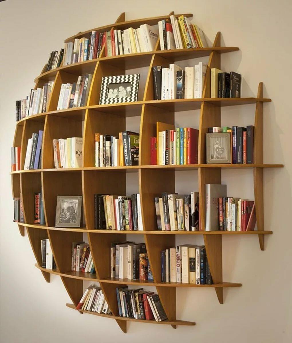 اشكال مكتبات خشب