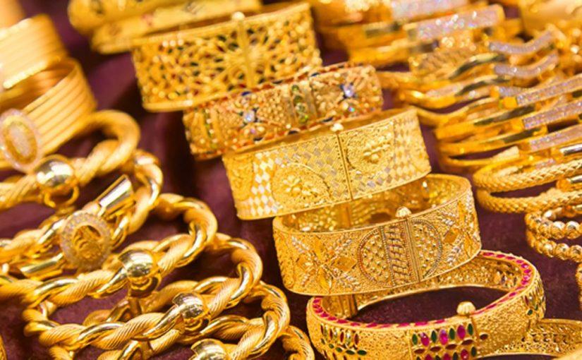 أسعار الذهب في السعودية 23 يناير 2020 ...ويواصل انخفاضه