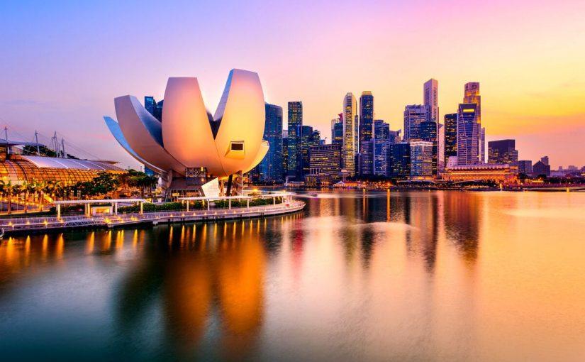 عاصمة سنغافورة