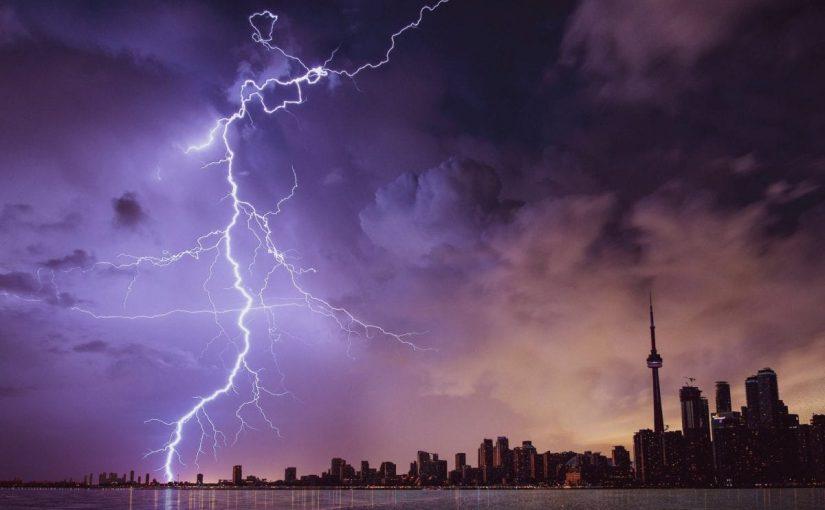 دعاء الرعد والبرق