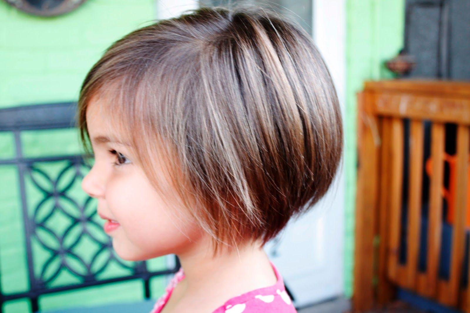 قصات شعر كاريه مدرج قصير للاطفال 2