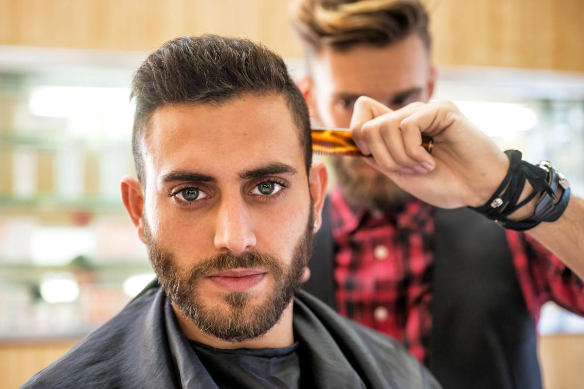 قصات شعر رجالي