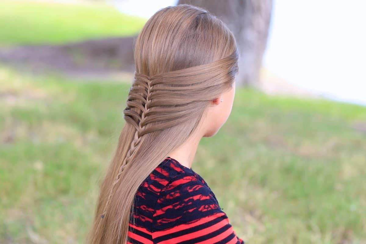 تسريحات شعر للمدرسة للاطفال