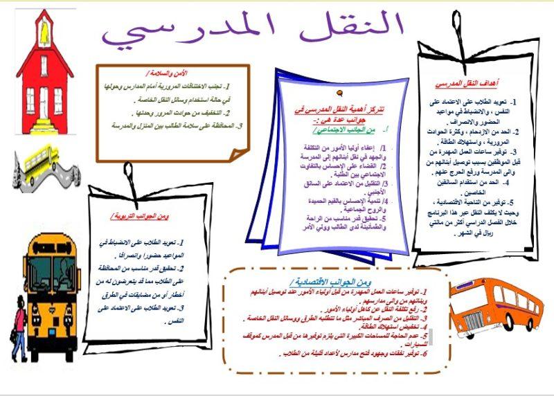 مطوية الامن والسلامة في المدارس موسوعة