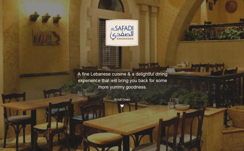 مطعم الصفدي للمأكولات اللبنانية في دبي