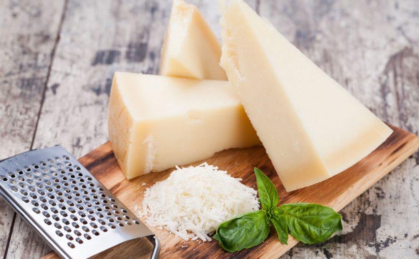 القيمة الغذائية لجبن البارميزان