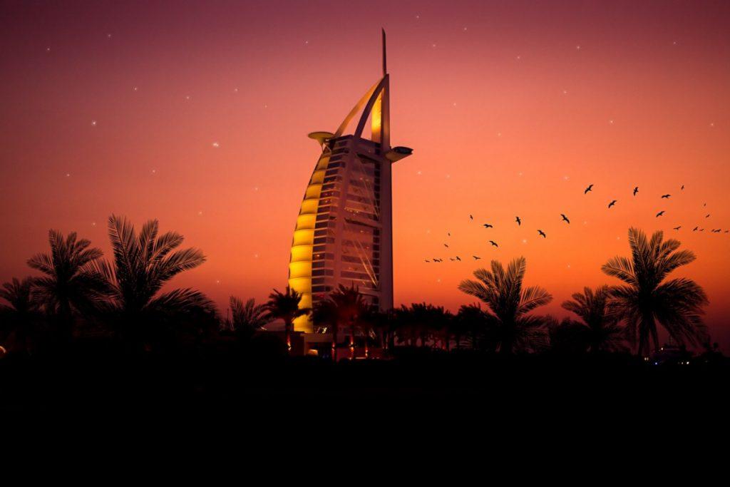 9 صور لا تصدق لغروب الشمس في دبي