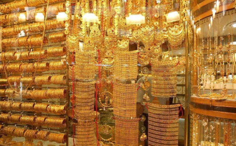معلومات عن سوق الذهب في دبي