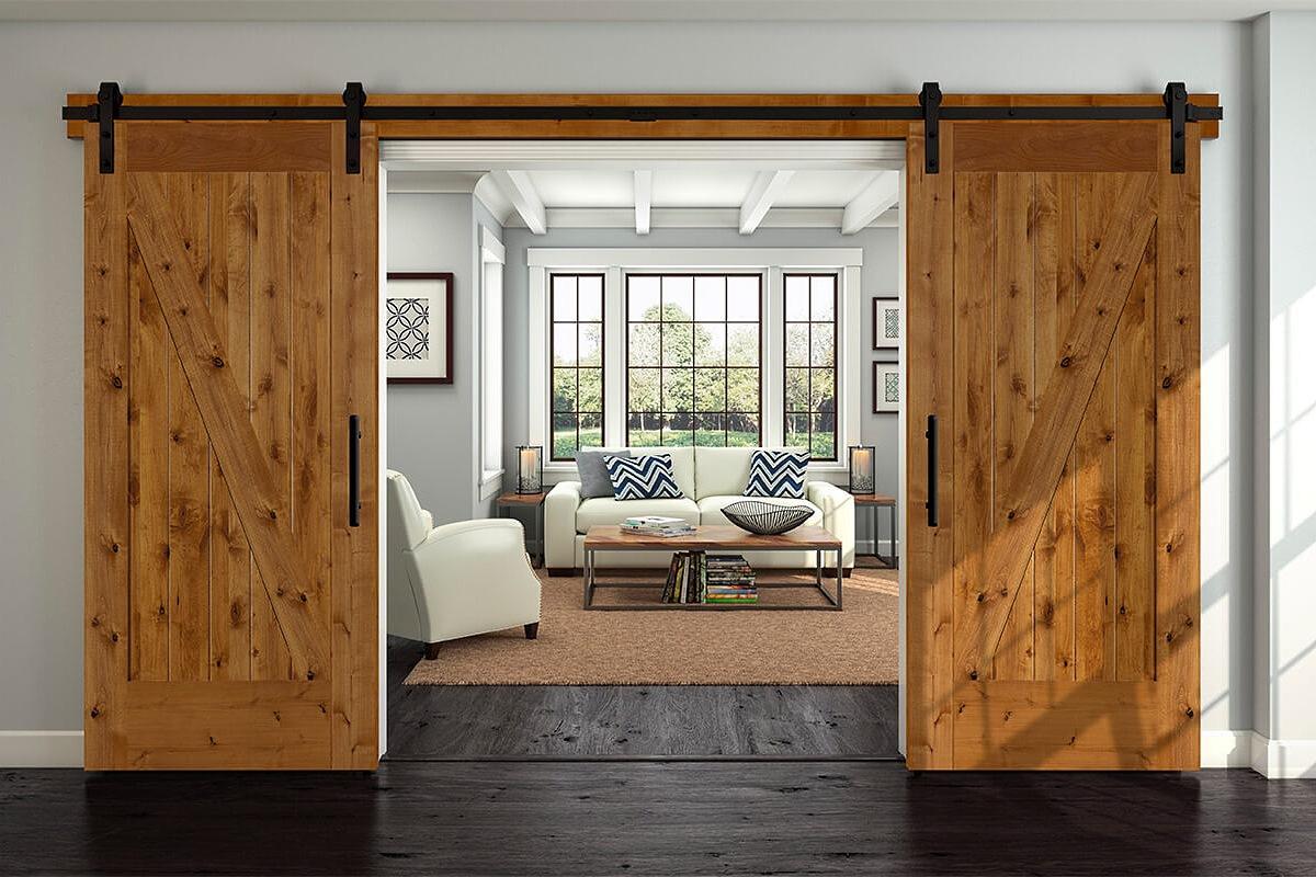 أبواب خشب 8