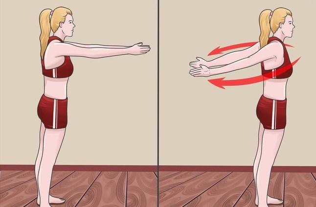 تمارين فعالة لشد الثدي