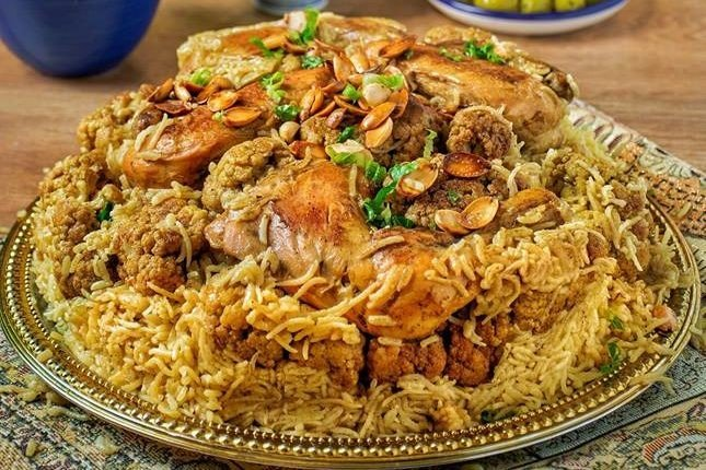 طريقة عمل مقلوبة الدجاج السعودية