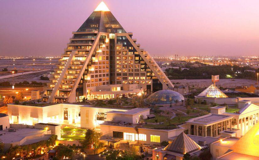 فندق رافلز دبي شارع الشيخ زايد
