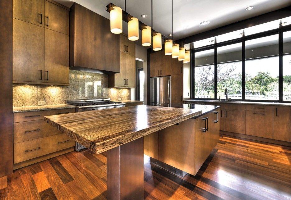 تصميمات مطابخ خشب