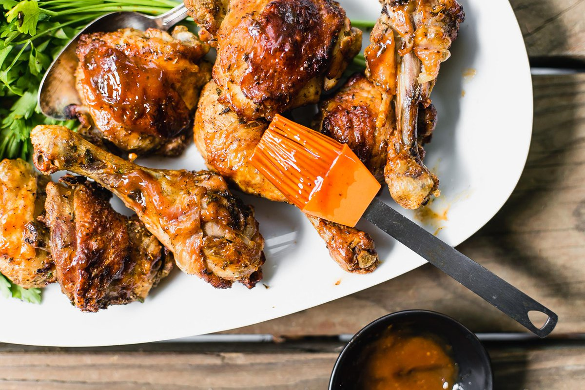 طريقة دجاج بالفرن لذيذة