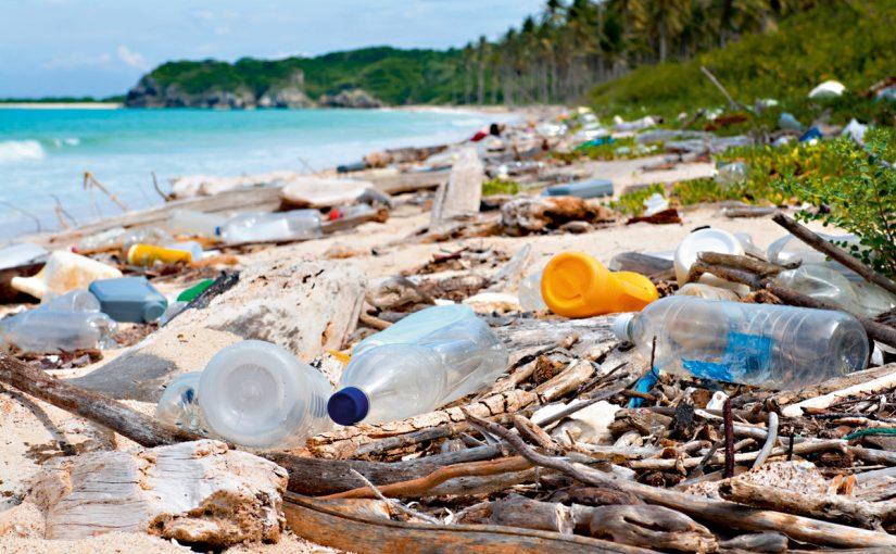 اكتب فقرات عن ملوث من ملوثات البيئة النفايات