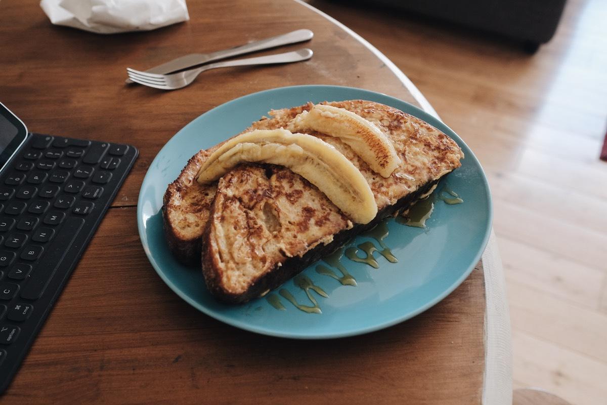 اطباق فطور بالتوست