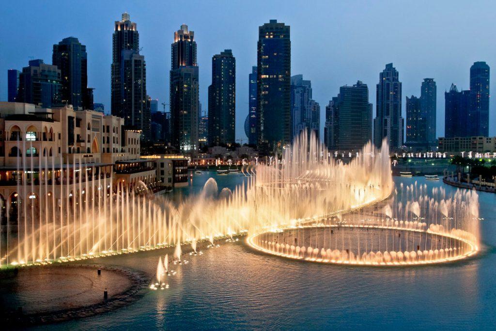 صور نافورة دبي 2020
