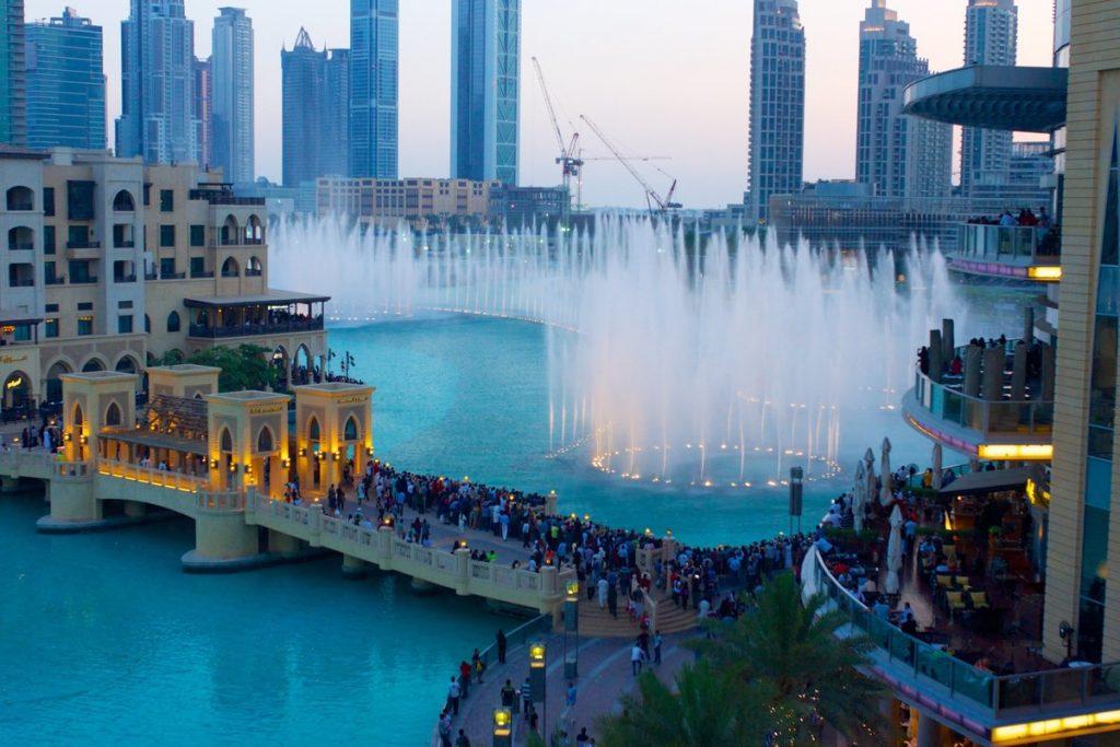 أجمل صور نافورة دبي