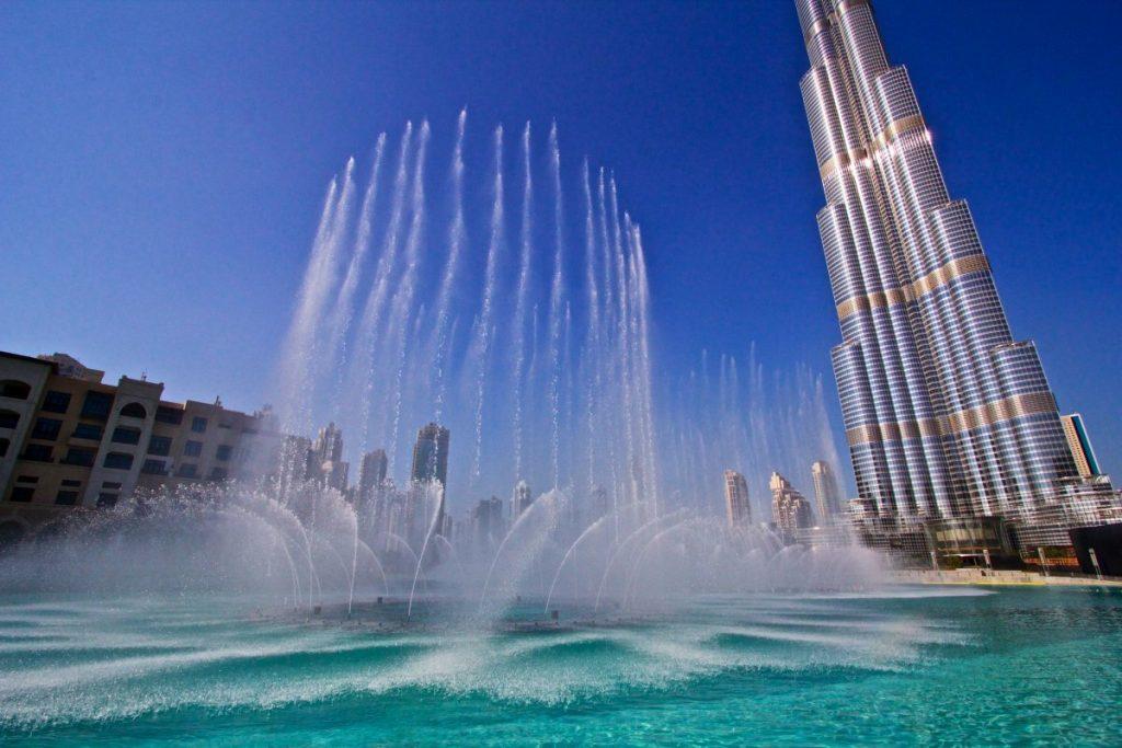 خلفيات نافورة دبي