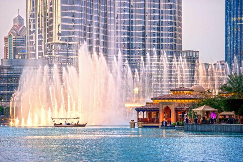 صورة نافورة دبي للواتس