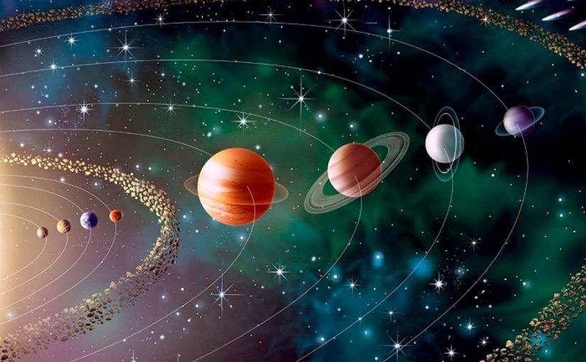 عدد مكونات النظام الشمسي