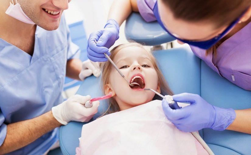 علاج اسنان الاطفال